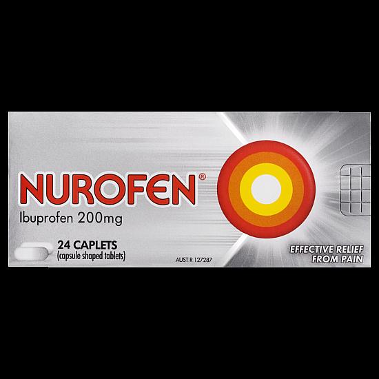 Nurofen Pain Relief 200mg Capsules - 24 Pack