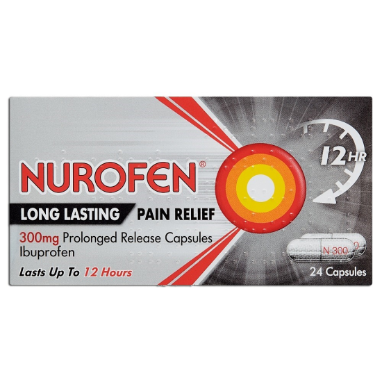 Nurofen Back Pain Relief - 24 x 300mg Capsules