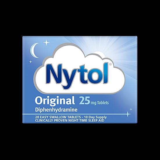 Nytol Original 25mg - 20 Tablets