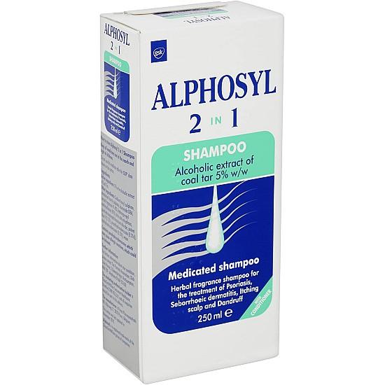 Alphosyl 2in1 Medicated Shampoo – 250ml