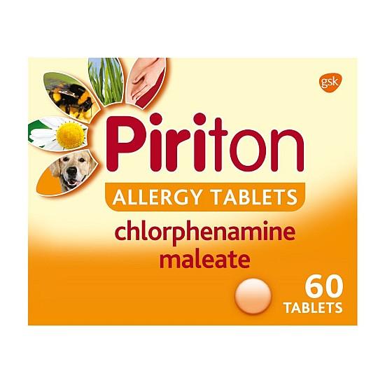 Piriton Allergy - 60 Tablets
