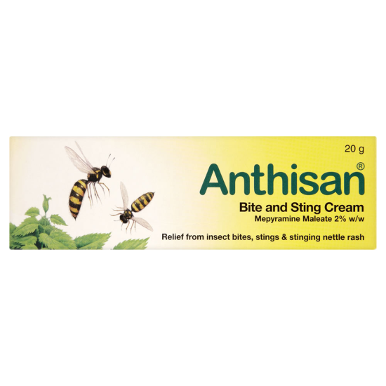 Anthisan Bite and Sting Relief Cream - 20g