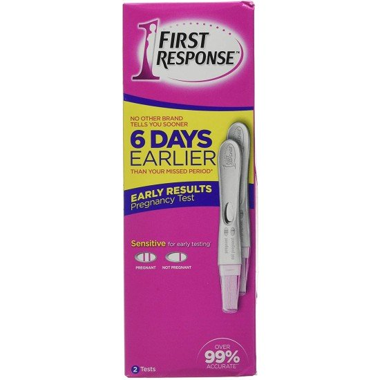 First Response - Early Result Pregnancy Test - One Pack of 2 Units