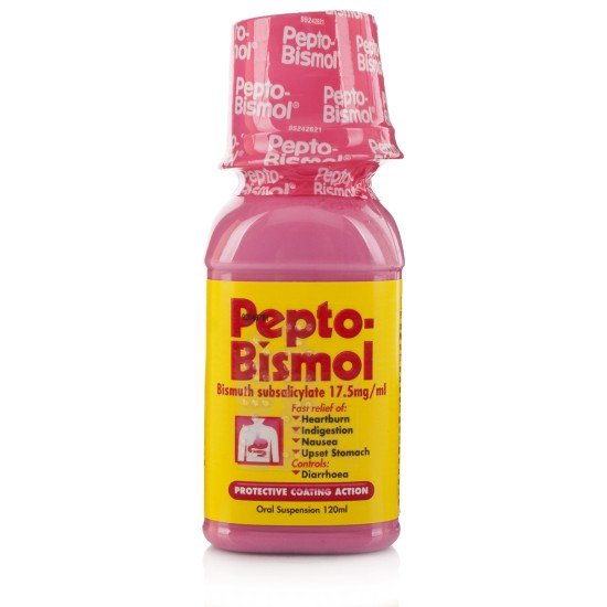 Pepto-Bismol Liquid Suspension 120ml