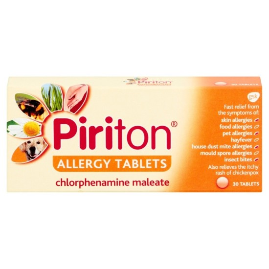 Piriton Allergy - 30 Tablets