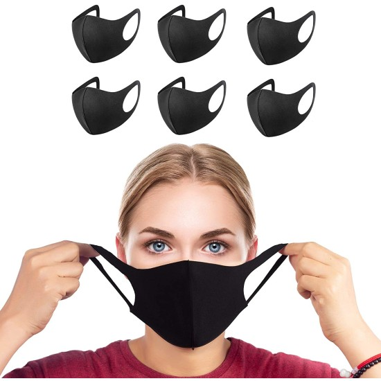 Reusable Antibacterial Face Mask - Pack of 6