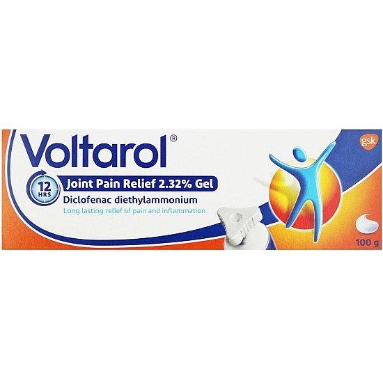 Voltarol 12 Hour Joint Pain Relief Gel - 100g