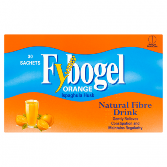 Fybogel Orange Sachet Drinks – 30 Sachets