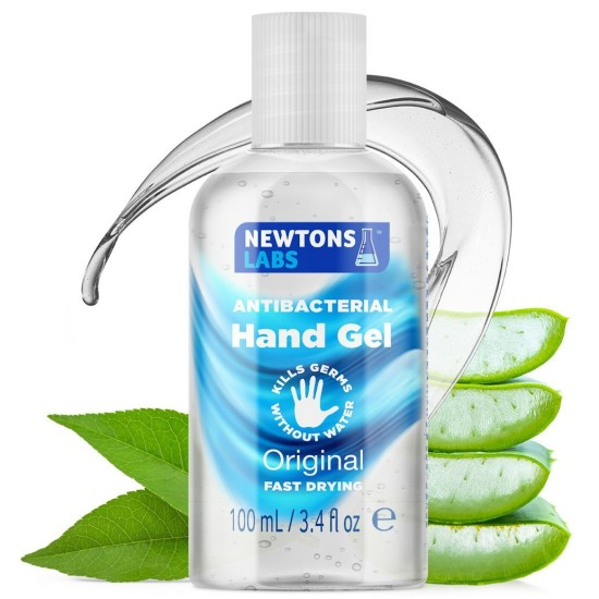 Newton's Antibacterial Hand Gel & Sanitiser - 100ml