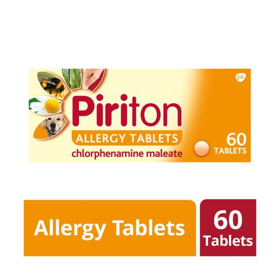 Piriton Allergy - 60 Tablets