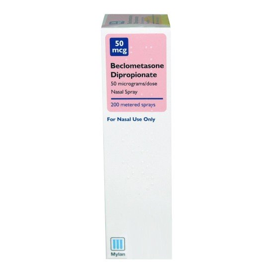 Beclometasone Hayfever & Allergy Relief Nasal Spray - 200 Dose