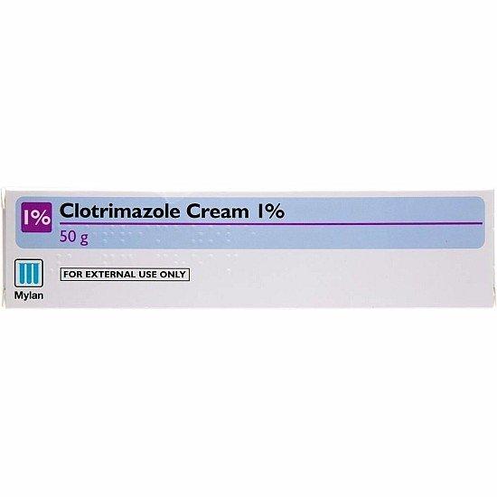 Clotrimazole Cream 1% Fungal Treatment 50g