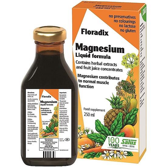 Floradix Magnesium Liquid - 250ml