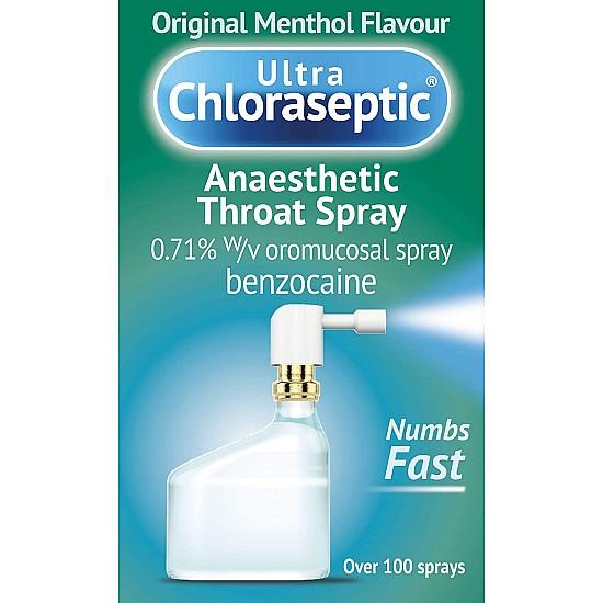Ultra Chloraseptic Original Menthol Throat Spray – 15ml