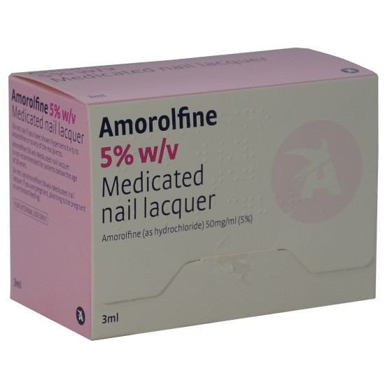 Amorolfine 5% Nail Lacquer 3ml