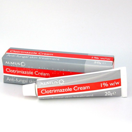 Clotrimazole Cream 1% Fungal Treatment 20g