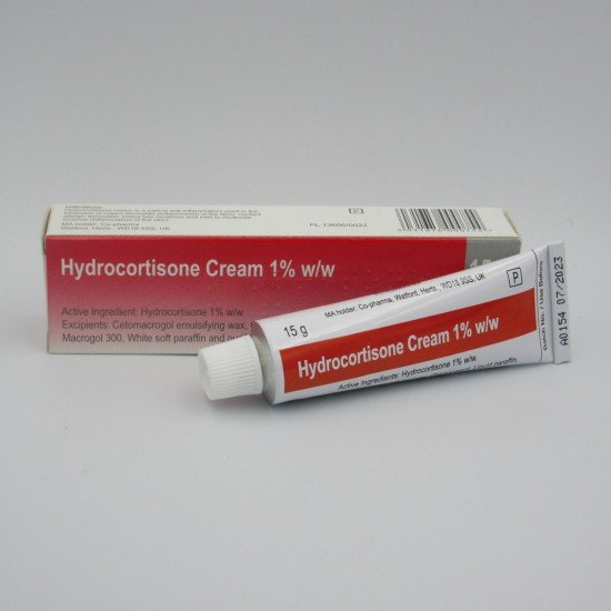 5 x Hydrocortisone Cream 15g, Bite, Sting and Itch Relief