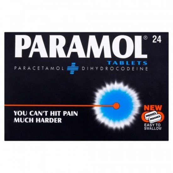 Paramol Tablets Easy To Swallow - Pack of 24