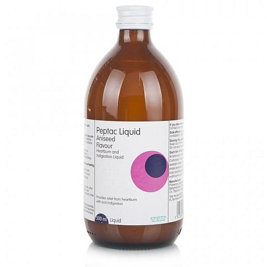 Peptac Original Aniseed Flavour Liquid Antacid - 500ml