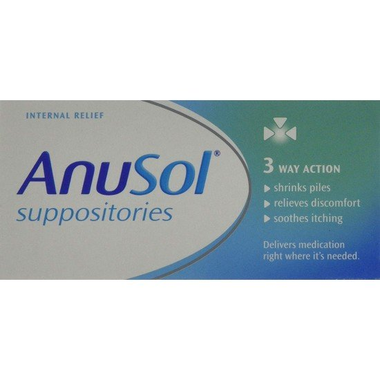 Anusol Suppositories Relief For Haemorrhoids - 24 Suppositories