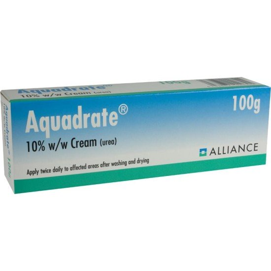 Aquadrate Cream (Urea 10% w/w) – 100g