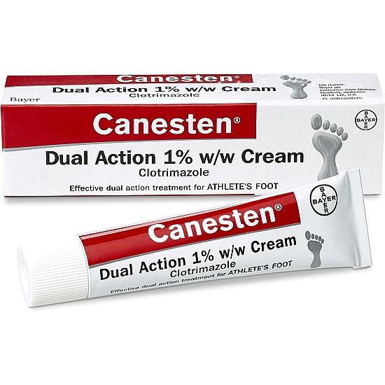 canesten athletes foot cream
