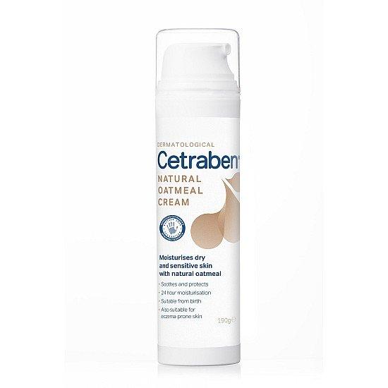 Cetraben Natural Oatmeal Cream - 190g