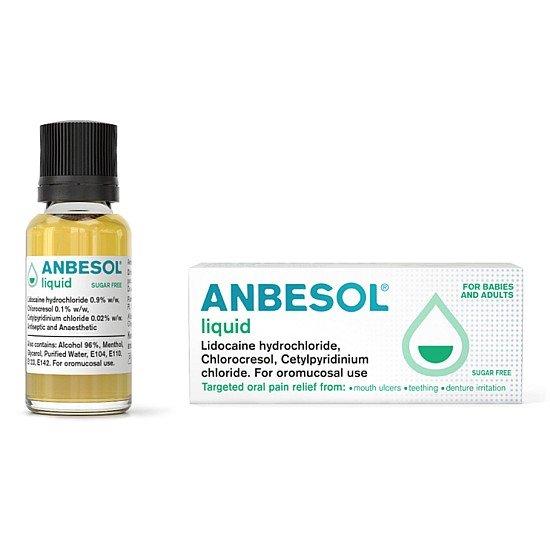 Anbesol Oral Liquid 10ml