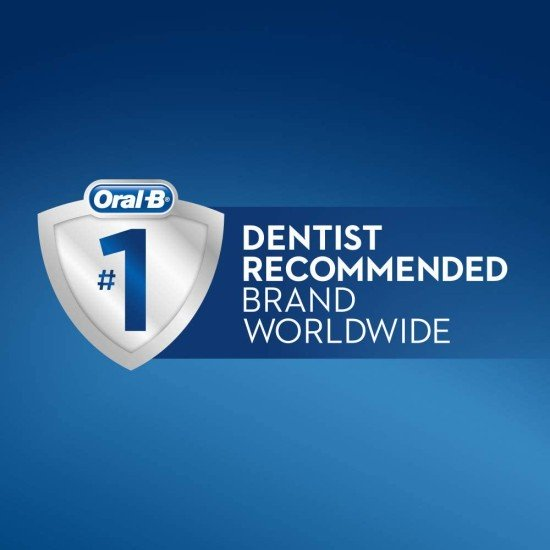 Oral-B Pro 650 Pink 3D White Electric Toothbrush With Toothpaste