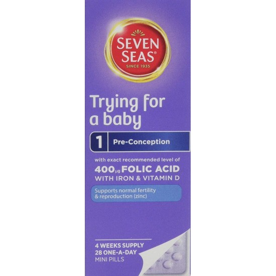 Seven Seas Trying For A Baby - 28 One-A-Day Mini Pills